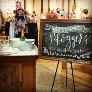 Hyde Park Village Blogger Stroll - Anthropologie