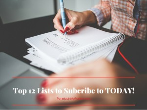 Top 12 Lists To Subscribe to Today