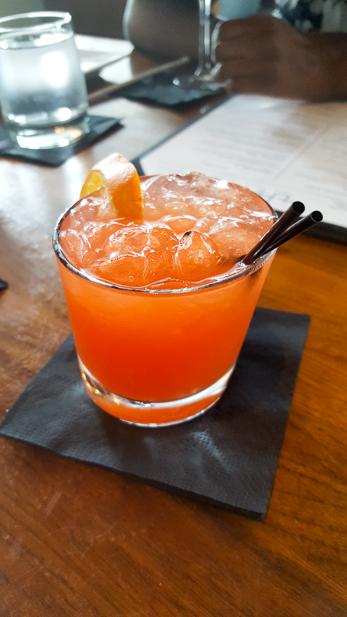 Happy Hour at Thrive - Blood Orange Rita
