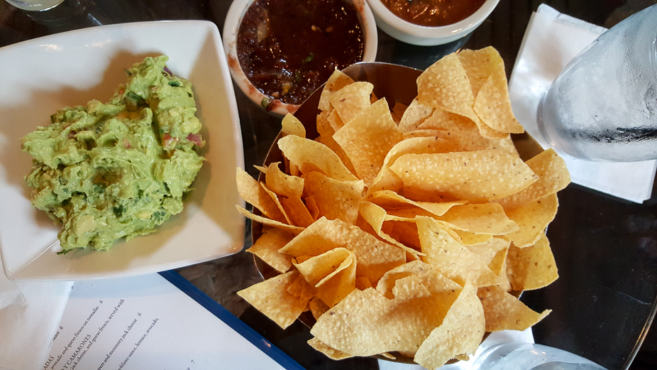 Happy Hour at Cantina Laredo - Chips