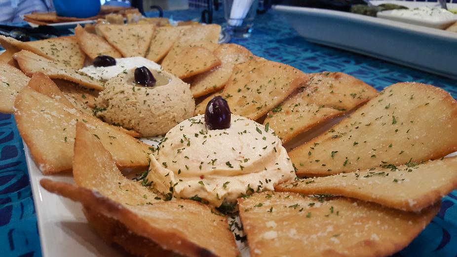 A Taste of Louis Pappas Greek Cafe (Trio of Spreads)