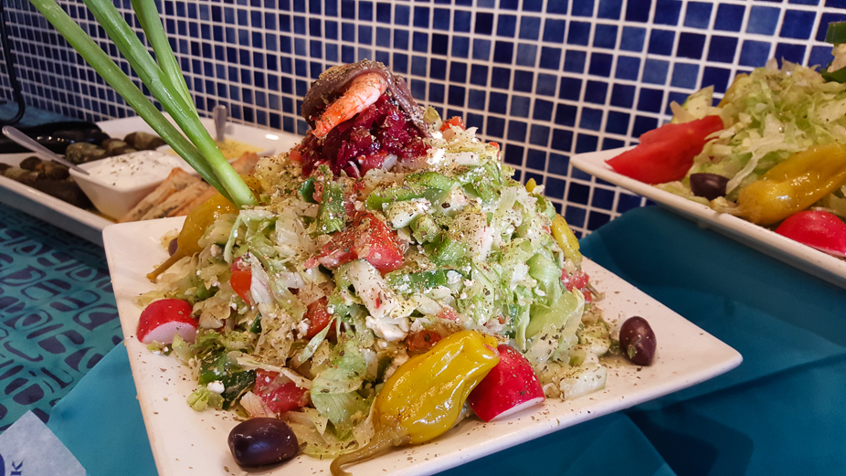 A Taste of Louis Pappas Greek Cafe (Pappas Greek Salad)