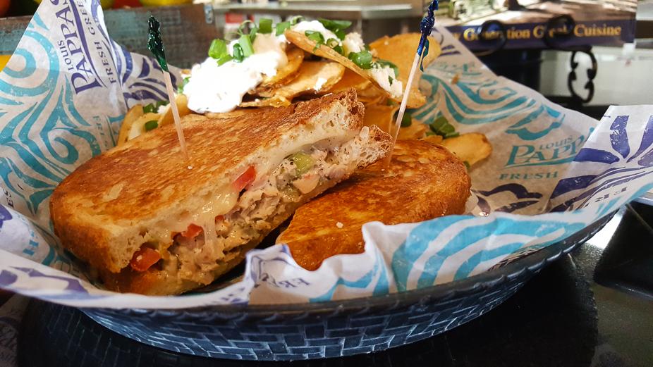 A Taste of Louis Pappas Greek Cafe (Chicken Salad Melt)