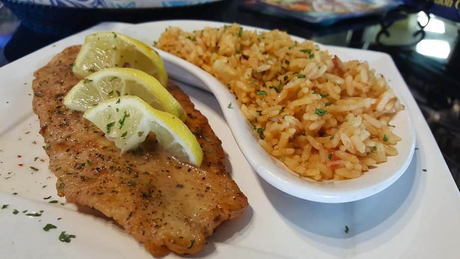 A Taste of Louis Pappas Greek Cafe (Fish Special)