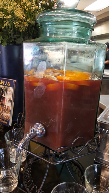 A Taste of Louis Pappas Greek Cafe (Sangria)