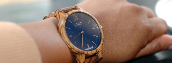 Ending January with My New Jord Watch - Frankie 35 Series in Zebrawood and Navy