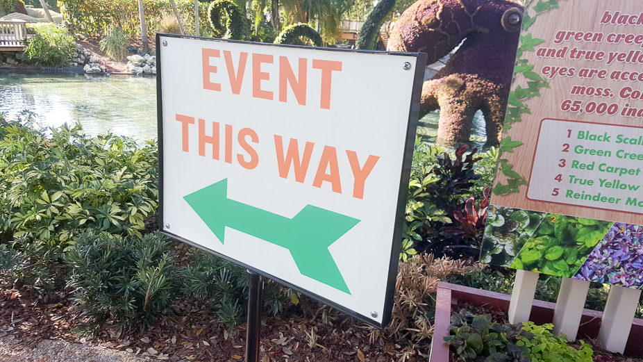 Get a view of Busch Gardens Food & Wine Festival in Tampa Bay.
